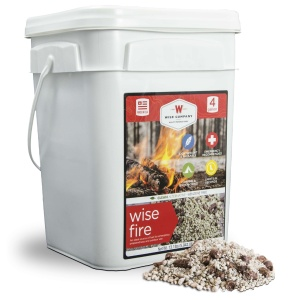 Wise Food Storage 4 Gallon Bucket - Wise Fire-0