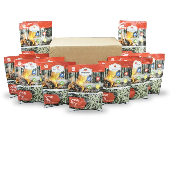 Wise Food Storage Boxed Individual Pouches - Wise Fire-0