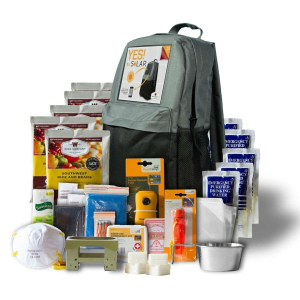 Wise Food Storage 5 Day SOLAR Survival Backpack-0