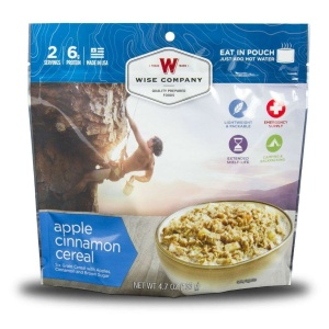 Wise Food Storage Outdoor Apple Cinnamon Cereal Sold as 6ct Pack-0