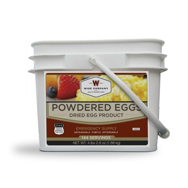 Wise Food Storage Powdered Eggs In a Bucket- 144 Total Servings-0
