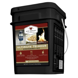 Wise Food Storage Ultimate 72 Hour Kit 72 Servings, Water Filter, Fire-0