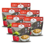 Wise Food Storage 6ct Pack - Outdoor Chili Mac with Beef 2 Serving Pouch-0
