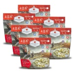 Wise Food Storage 6ct Pack - Outdoor Noodles Beef 2 Serving Pouch-0