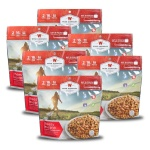 Wise Food Storage 6ct Pack - Outdoor Cheesy Lasagna 2 Serving Pouch-0