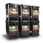 Wise Food Storage 720 Serving Package - 120 lbs - Includes 3 - 120 Serving Entree Buckets and 3 - 120 Serving Breakfast Buckets-0