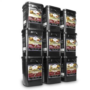 Wise Food Storage 1080 Serving Package - 186 lbs - Includes 6 - 120 Serving Entree Buckets and 3 - 120 Serving Breakfast Buckets-0