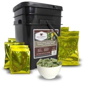 Wise Food Storage 120 Serving Freeze Dried Vegetable and Gourmet Flavored Sauces-0