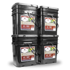 Wise Food Storage 480 Serving Freeze Dried Vegetable and Gourmet Flavored Sauces-0