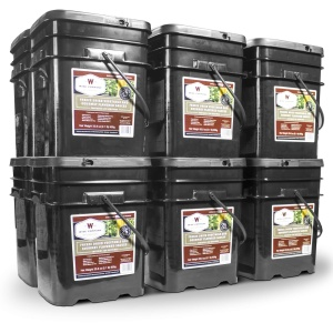 Wise Food Storage 1440 Serving Freeze Dried Vegetable and Gourmet Flavored Sauces-0