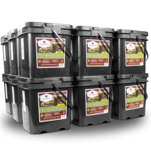 Wise Food Storage 1080 Serving Meat Package Includes 18 Freeze Dried Meat Buckets-0