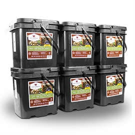 Wise Food Storage 360 Serving Meat Package Includes 6 Freeze Dried Meat Buckets-0