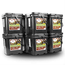 Wise Food Storage 600 Serving Meat Package Includes 10 Freeze Dried Meat Buckets-0