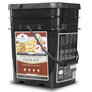 Wise Food Storage 84 Serving Breakfast and Entree Grab and Go-0