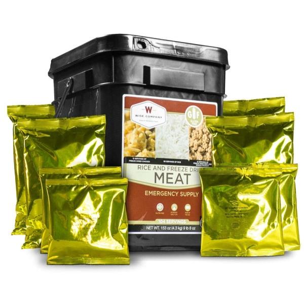 Wise Food Storage Protein Bucket - 104 Servings-0