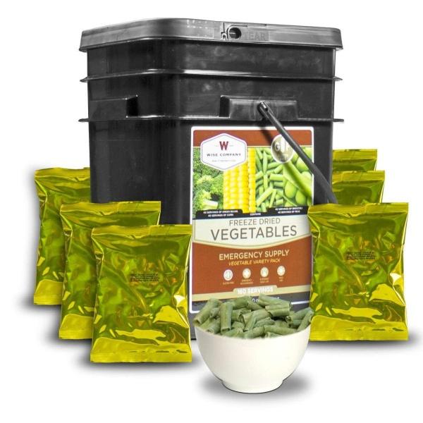 Wise Food Storage Freeze Dried Vegetable - 160 Servings-0