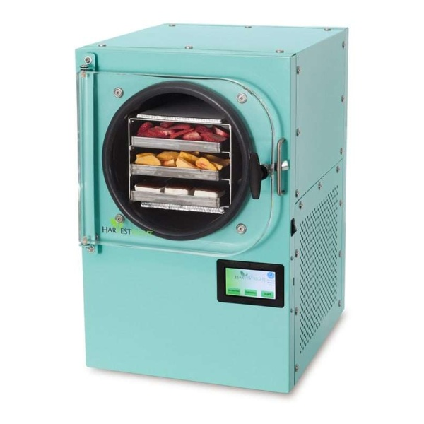 teal freeze dryer