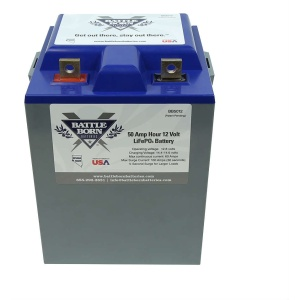 Battle Born Batteries 50Ah 12V LiFePO4 Deep Cycle Battery-0