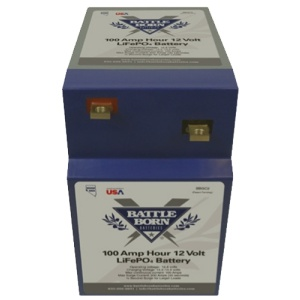 Battle Born Batteries 100Ah 12V Lifepo4 Vertical Deep Cycle Battery-0