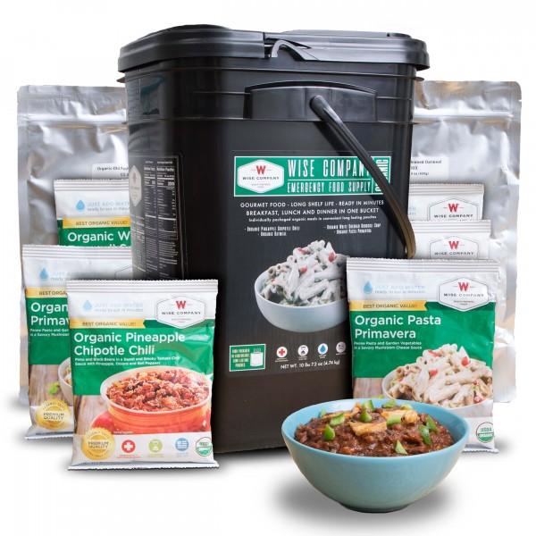 Wise Food Storage Organic Emergency Freeze Dried Food 90