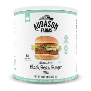 Black Bean Burger #10 Can