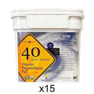 15x organic food buckets