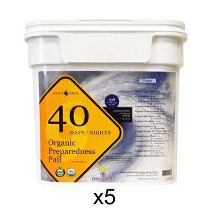 5x enerhealth botanical buckets