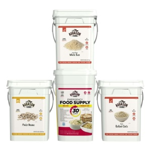 Augason Farms 3 Pack Pail Kit