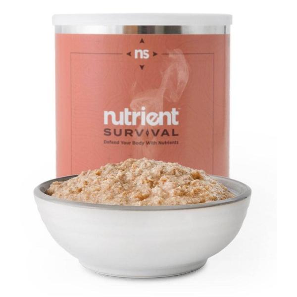 Survival Apple Cinnamon Oatmeal