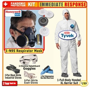 Emergency First Responder Pandemic Kit