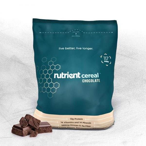 nutrient survival chocolate cereal