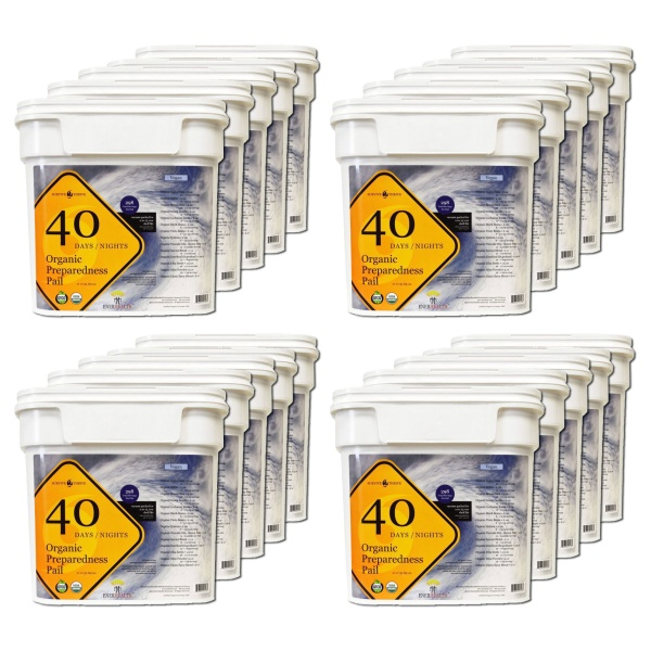 Survive2Thrive with Enerfood 20 Pack Pails