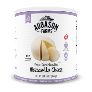 Augason Farms Mozzarella Cheese