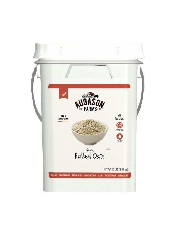 Augason Farms Quick Rolled Oatmeal