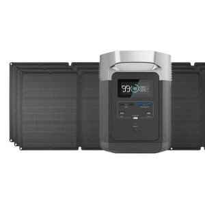 EcoFlow Delta 1300 and solar panels