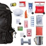 ReadyWise Black Survival Backpack